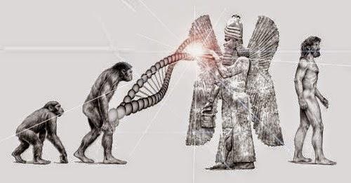 The Nibiru Cataclysm, The Anunnaki And Planet X Mankind-Human-Species-Missing-Link-the-Anunnaki