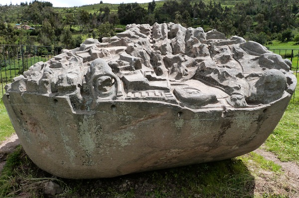 The Mysterious Sayhuite Monolith. Credit: www.weblogtheworld.com