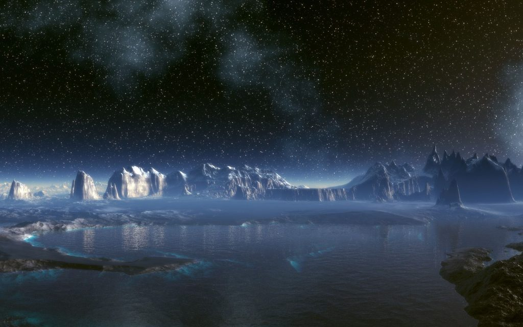 The Secrets of the solar system could be hidden in Antarctica. (Source)