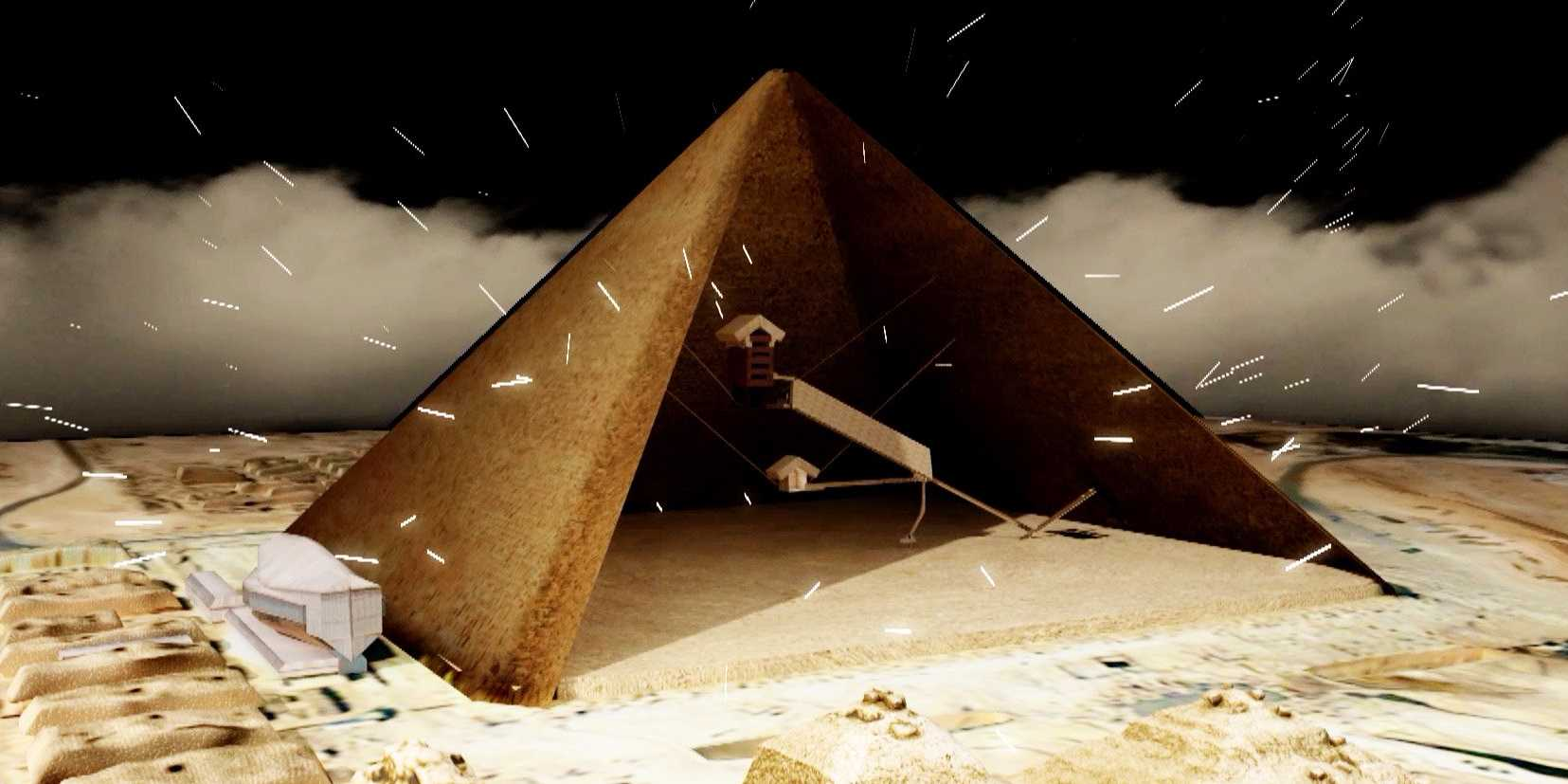 Explore History Revisits The Mysteries Hidden within The Pyramids at Giza