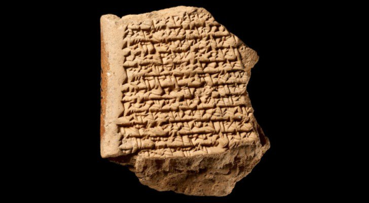 Ancient Babylonian Star Map of Jupiter