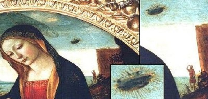 This painting from the 15th century may be the ultimate evidence of UFO's