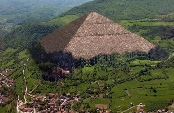 Fascinating similarities between the Pyramids of Giza and Bosnian Pyramids