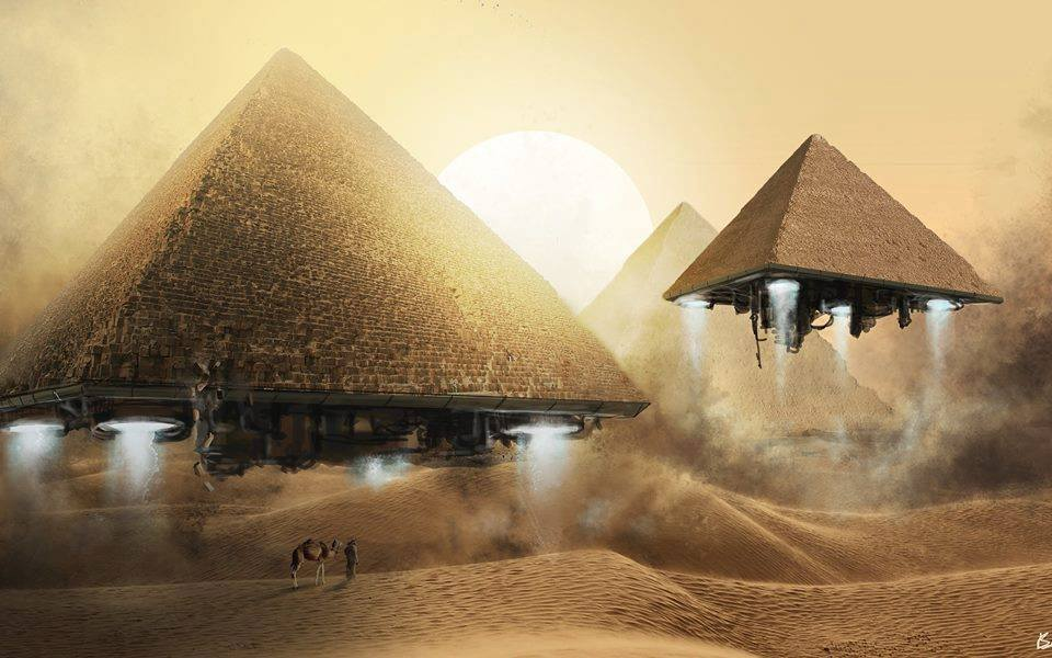 Ancient Alien Pharaohs?