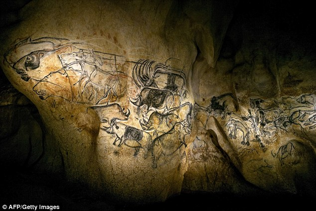 Radiocarbon dating cave paintings