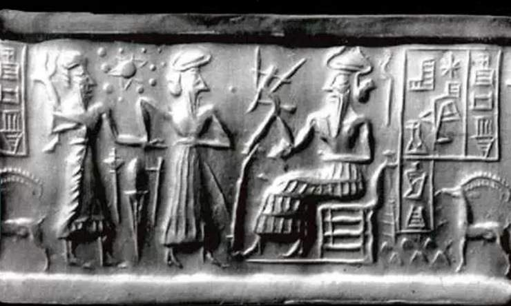 Many mythologies predict a doomsday planet. (The Sumerian Seal, Flickr/Tortuga767)