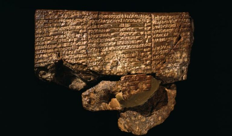 The Ancient Sumerian tablet of Nippur is the oldest description of the Great Flood