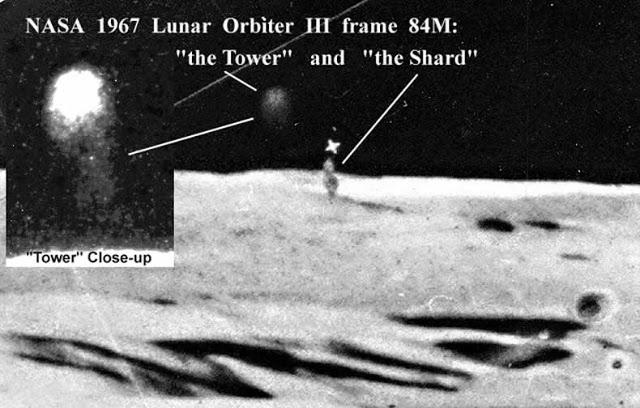 Alien Base on the Moon
