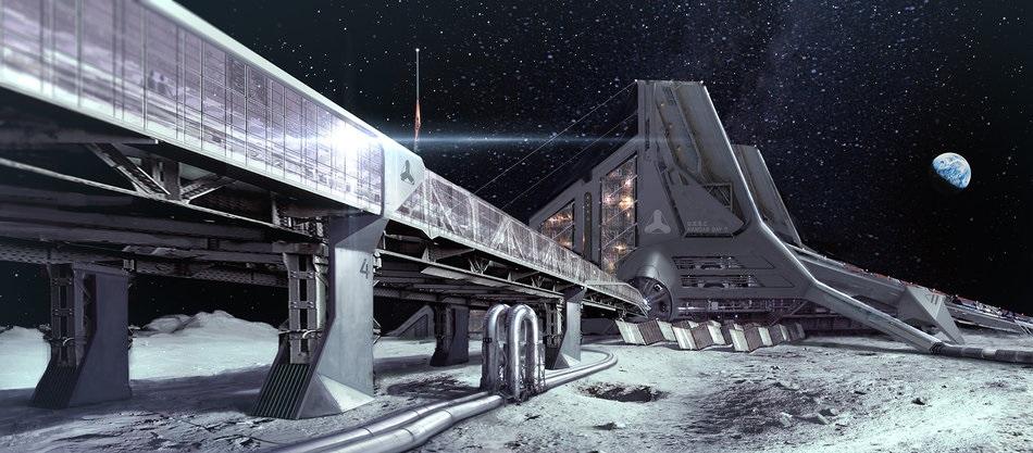 Mystery Moon Base