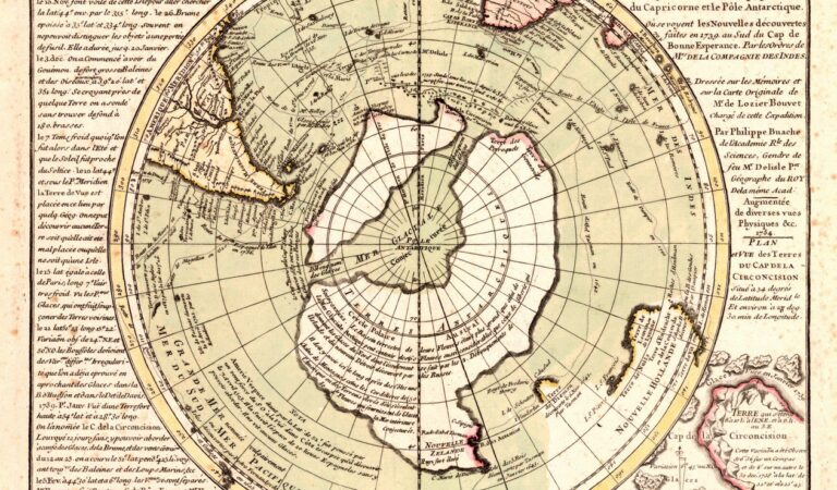 The Buache Map: A Controversial ancient chart depicting Ice-Free Antarctica