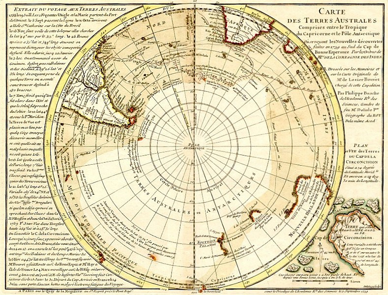 The other map which does not display Antarctica