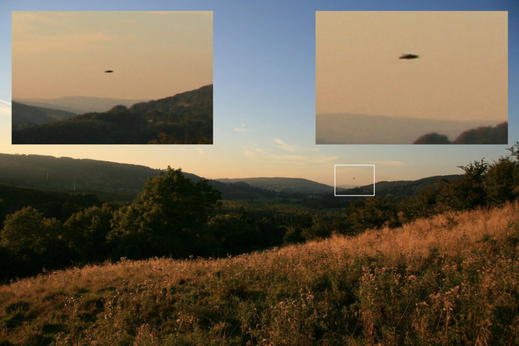 People all around the globe have witnessed inexplicable phenomenon in the sky. Image Credit.
