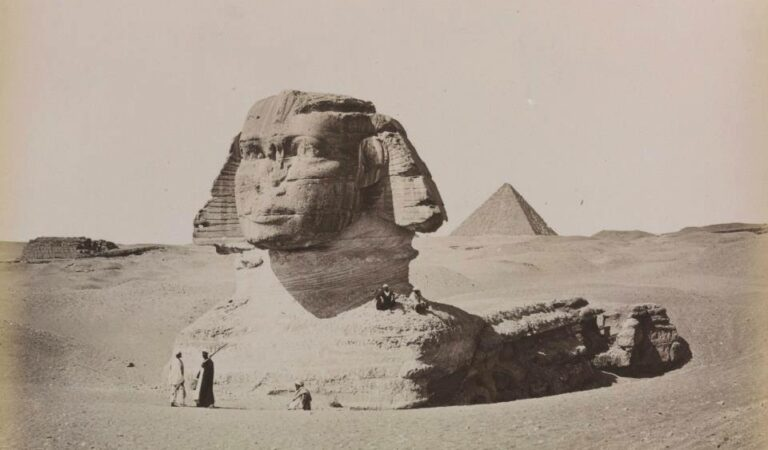Filmed in 1897, here is the oldest footage of the Great Sphinx of Giza