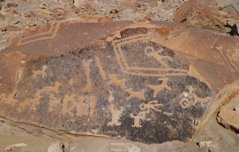 The Petrogrlyphs of Toro Muerto: Depictions of Ancient ...