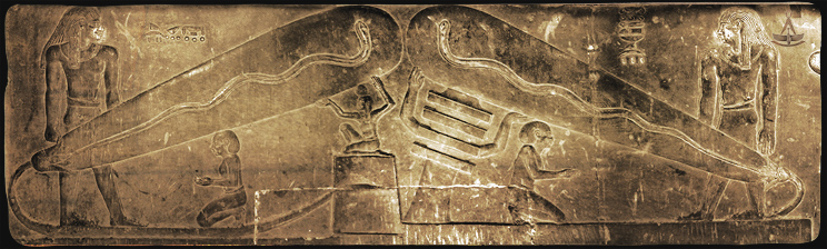 Ancient Egyptians had electricty and batteries thousands of years ago