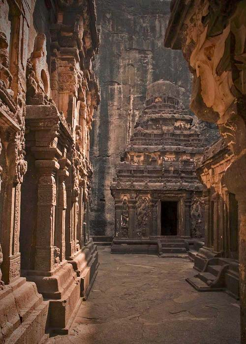 Ellora ancient caves
