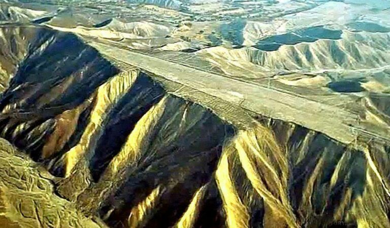 The Nazca Runways: Flat mountaintops that defy explanation