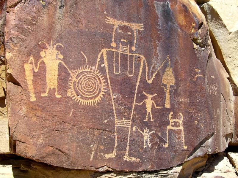 Hopi-Petroglyphs