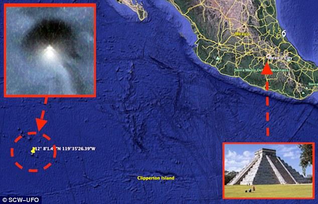 Huge Pyramid underwater map