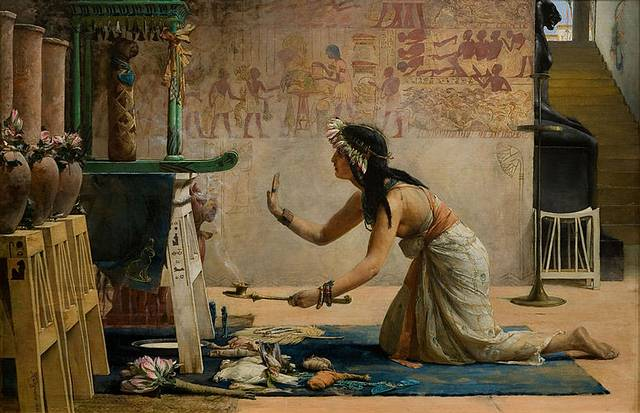 In her previous life e, Dorothy Eady claimed she was a priestess of Isis at the Temple of Abydos.