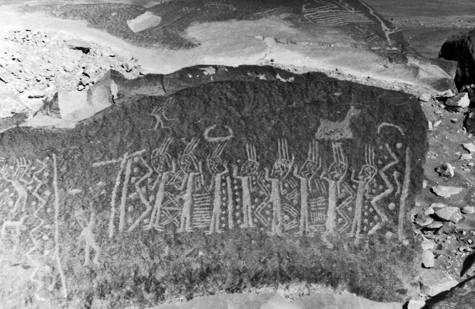 Petroglyphs Peru, Ancient Aliens