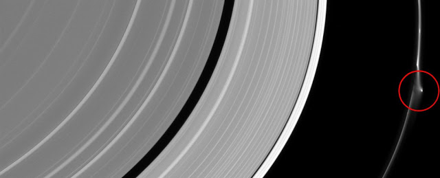 Saturn mystery object