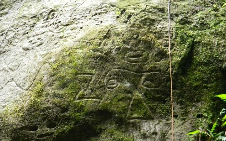 Hikers discover Ancient stone carvings of strange beings and geometric shapes at Montserrat