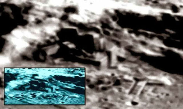 Shock claims: 'Intelligently built structures' on Far side of the moon?