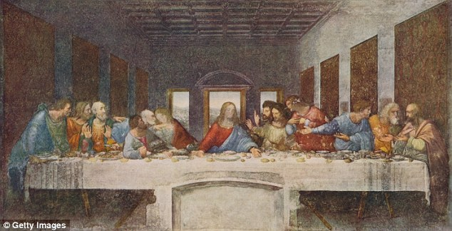 A hidden message in Da Vinci's Last Supper painting