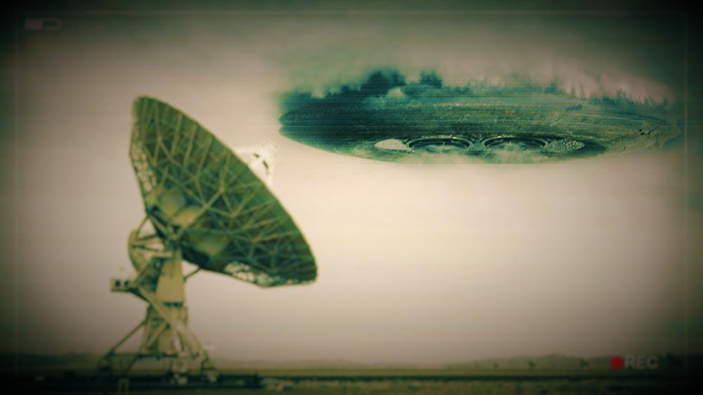 UFO tracked on Radar