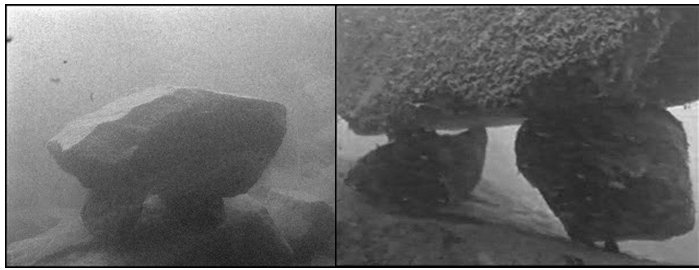 Underwater Structures LAke MacDonald