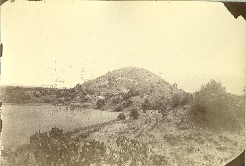 Charnay, Désiré, Pyramide de la lune à Teotihuacan © American Philosophical Society