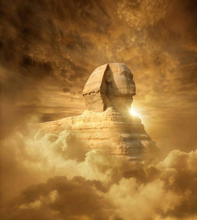 Anunnaki Sphinx