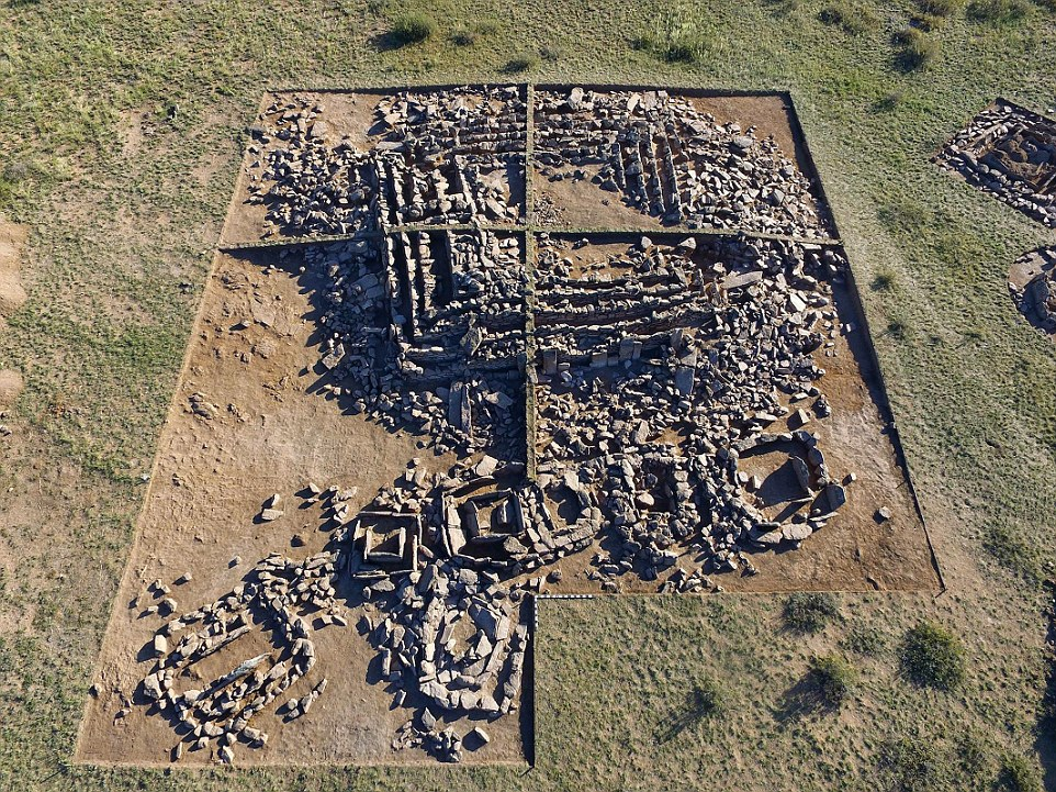 A Bronze Era pyramid found in Kazakhstan