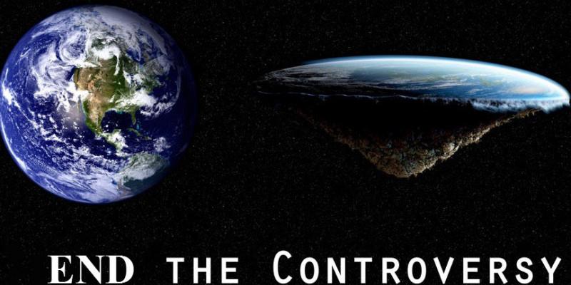 Flat Earth vs Round Earth?
