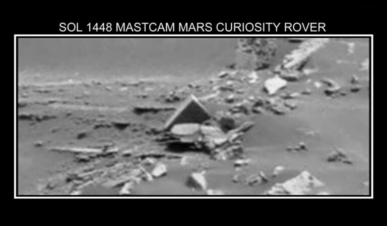 Anomaly on Mars: Traces of a lost Martian Civilization?