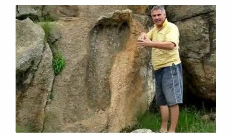 A massive, 200-million-year-old Footprint proves Giants existed?