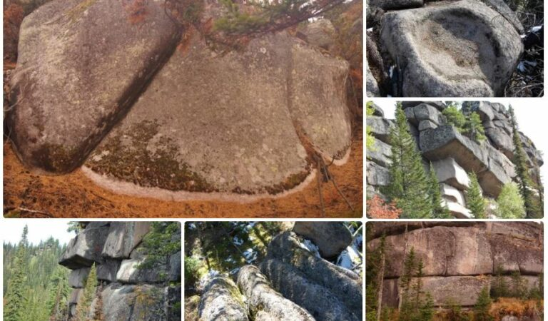Massive stones: Evidence of highly advanced civilizations of giants in Russia?