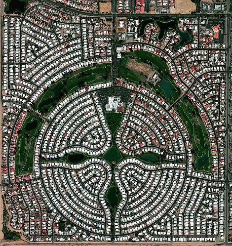 Sun Lakes, Arizona, USA is a planned community.