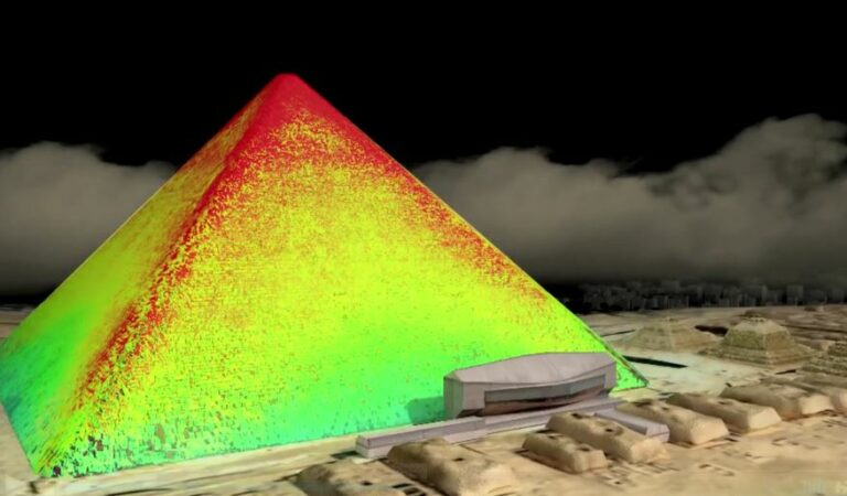 Major breakthrough in the search for hidden chambers inside Pyramid of Giza