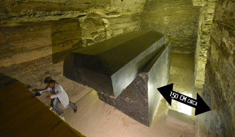 Advanced ancient technology beneath Egypt: 100-ton stone boxes baffle researchers