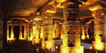 Inside the Ajanta Caves