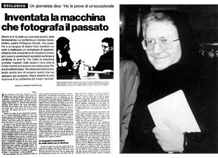 Ватикан, ЦРУ и MI6 держат в секрете прибор, позволяющий заглядывать в прошлое и в будущее. Chronovisor-newspaper
