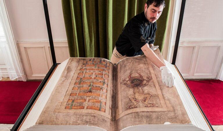 This it the world's largest ancient manuscript: 'The Devil's Bible'