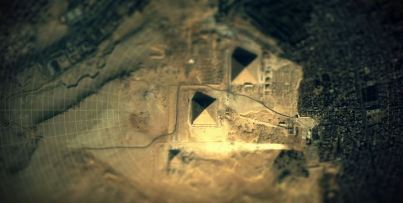 Is there a correlation between the Pyramids, and other sites on Earth and the stars?