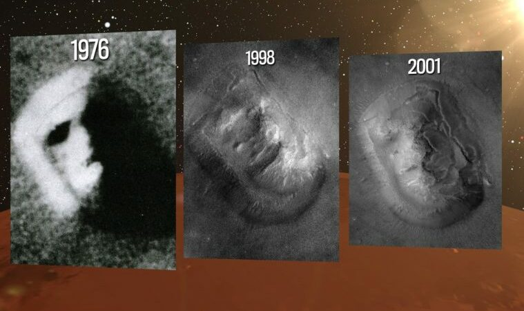 Cydonia, the Face & Pyramid on Mars are real, claim former NASA scientists