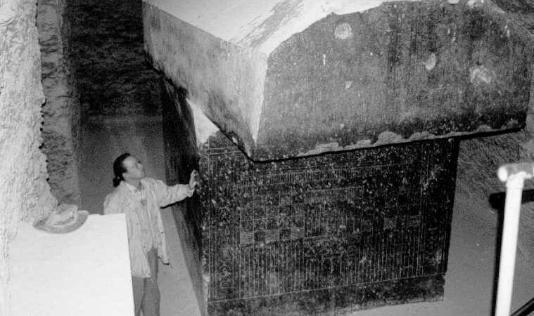 This Ancient Egyptian Labyrinth is home to 24 megalithic, highly-polished boxes that weigh 100 tons
