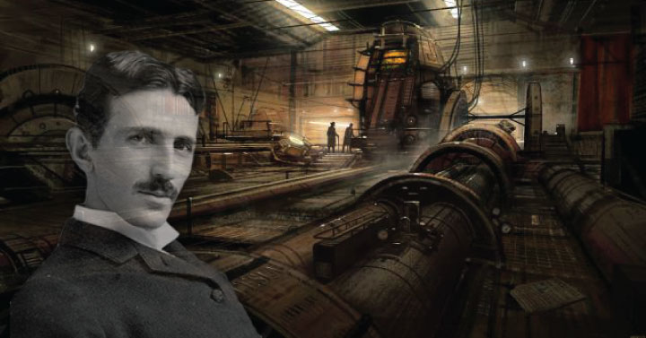 Tesla's Time Travel Experiment: I could see the past, present and future all at the same time'