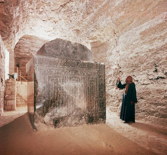 Massive Sarcophagi at the Serapeum of Saqqara