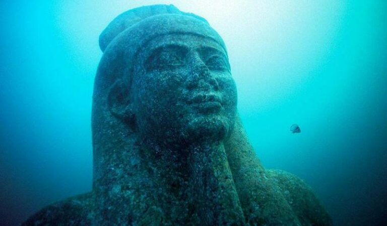 Meet Heracleion: A city thought to be a myth, found after 1,200 years under the sea